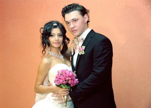 Алексей Кабанов с женой Розалией Коноян