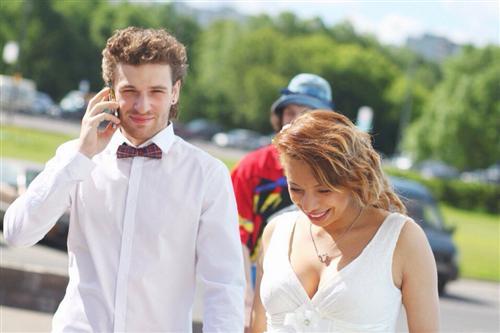 Хореограф и танцор Алексей Маргарита с женой Зариной