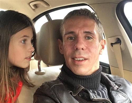 Алексей Панин и его дочь Нюся