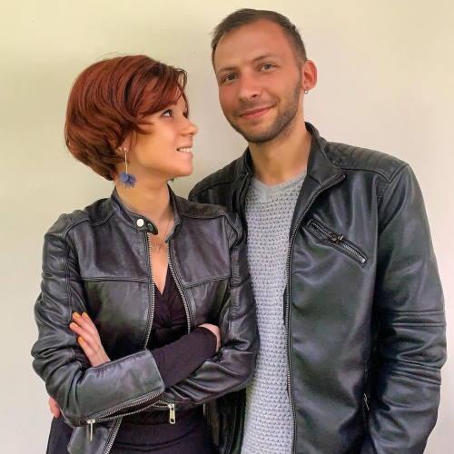 Алексей Петухов и его жена Даша Чигракова