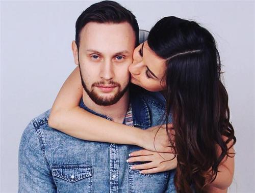 Алёна Венум и её муж Руслан Кузнецов