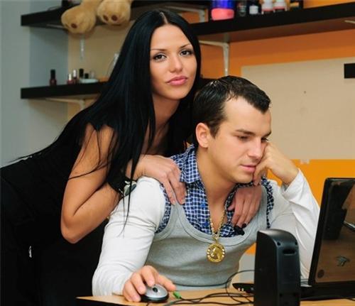 Алессандро Матераццо и Светлана Давыдова