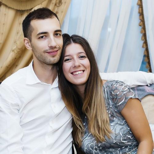 Актриса Алиса Супрун и ее муж Денис Возмилов