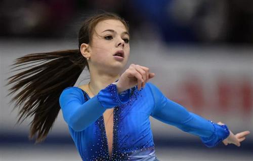 Фигуристка Анастасия Тараканова
