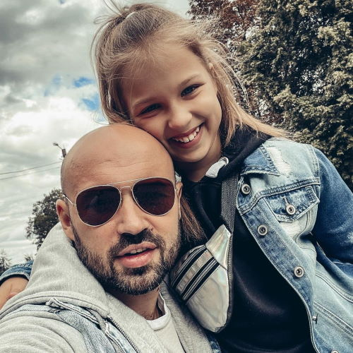 Дочь Ильи Закорецкого Настя