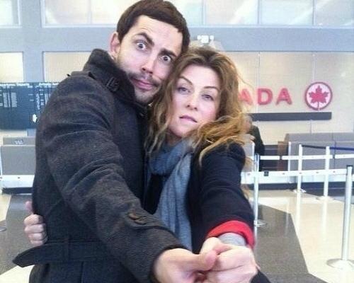 Андрей Бедняков и Жанна Бадоева
