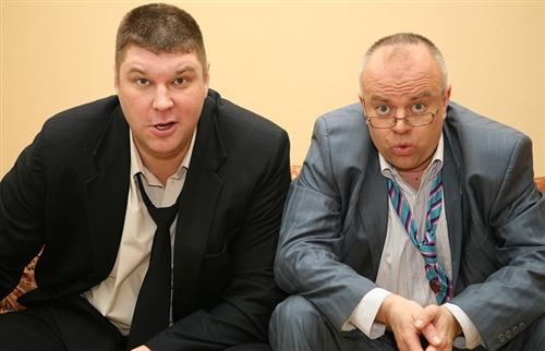 Андрей Свиридов и Алексей Климушкин