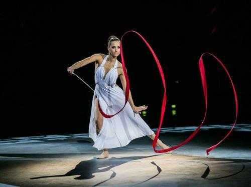 Выступление Олимпийской чемпионки Анны Гавриленко