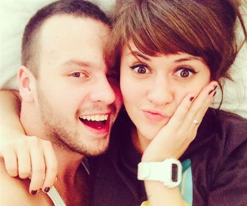 Анна Руднева и Дмитрий Белин (её муж)
