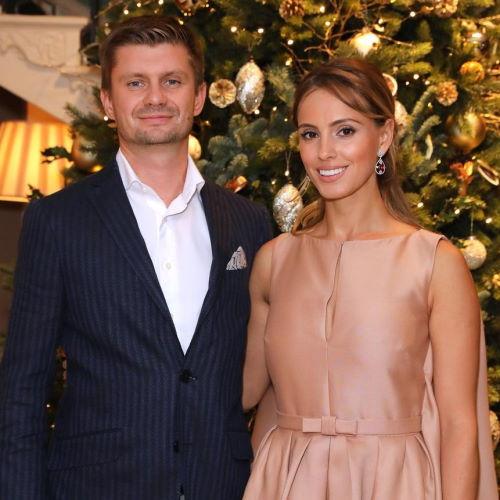 Антон Федун и его жена Алина Успенская