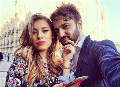 Антонелло Кароцца и его девушка Эрика Барбато