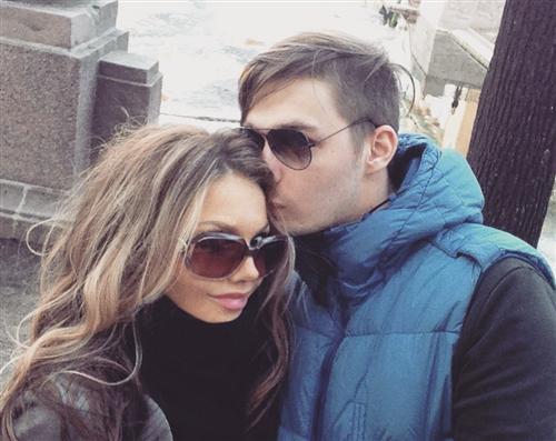 Аристарх Венес и его девушка Анна Горбачева