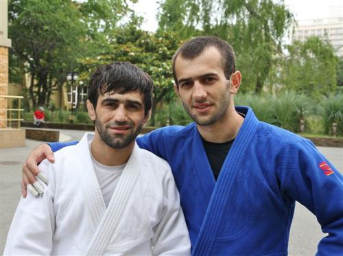 Беслан Мурданов с братом Асланом