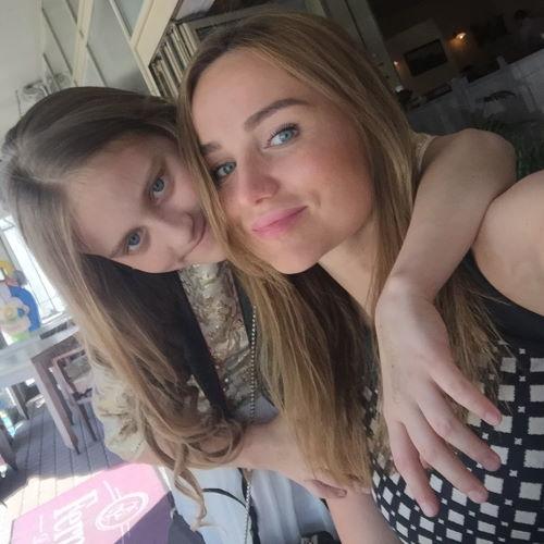 Дарья Кержакова и ее мама Мария