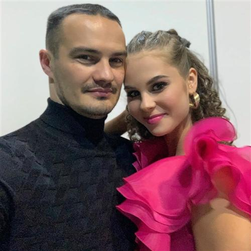 Дарья Палей и ее муж Алексей Сильде