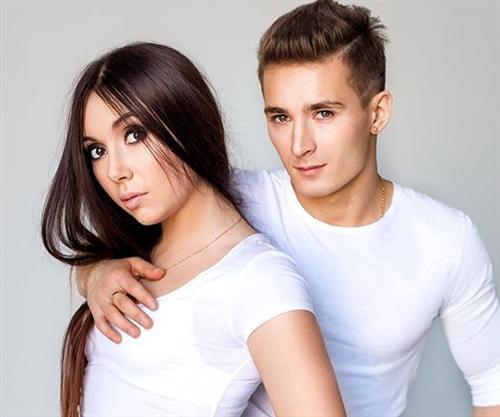 Давид Белявский и его девушка