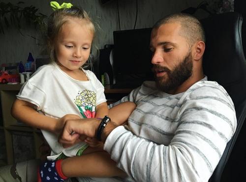 Демид Резин и его дочка
