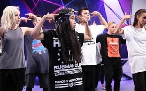 Лил Ди на шоу Танцы (ТНТ)