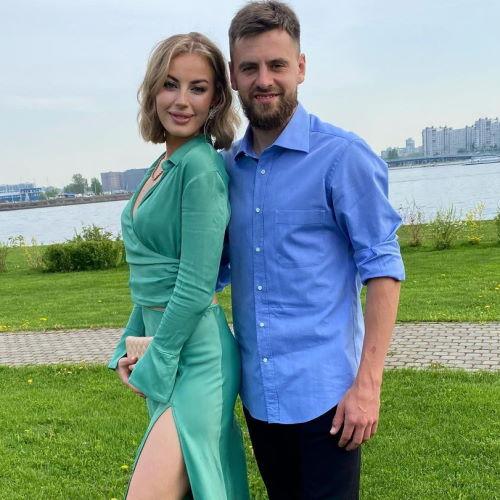 Жена футболиста Георгия Щенникова Диана