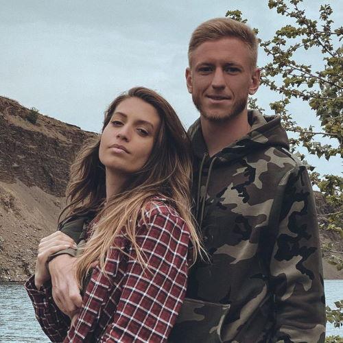 Футболист Дмитрий Чистяков и его девушка Марика