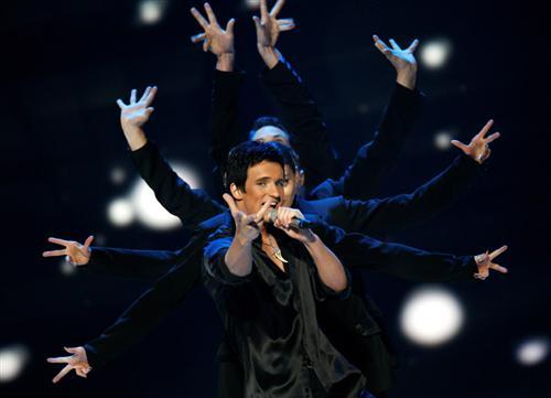 Дмитрий Колдун на Евровидении-2007