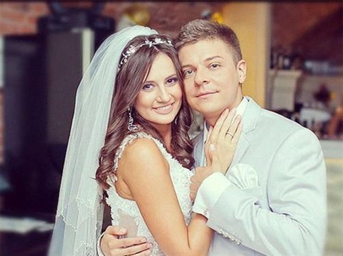 Дмитрий Пакуличев и его жена