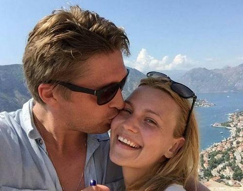 Дмитрий Пчела и его жена Екатерина