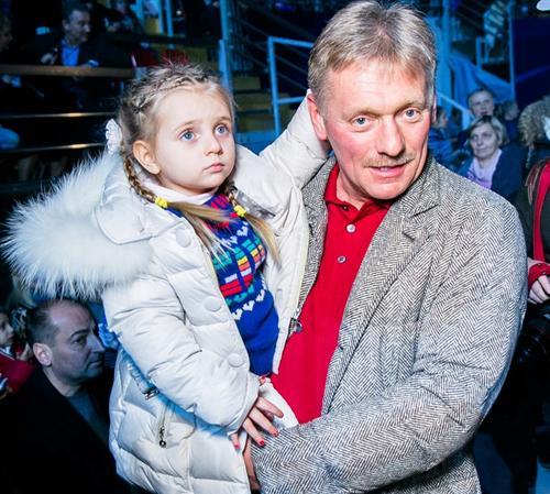 Дочь Дмитрия Пескова Надежда