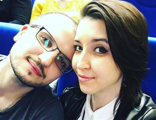 Дима Позов и его жена Екатерина
