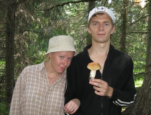 Дмитрий Скорницкий и его жена Мария Шекунова