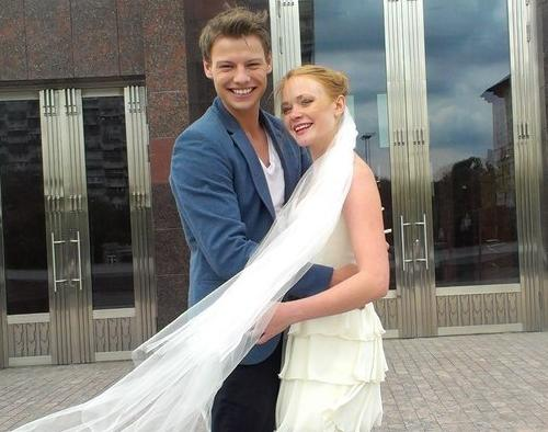 Дмитрий Власкин и его жена Александра Кузенкина