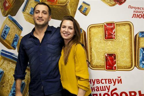 Екатерина Молоховская и Арарат Кещян