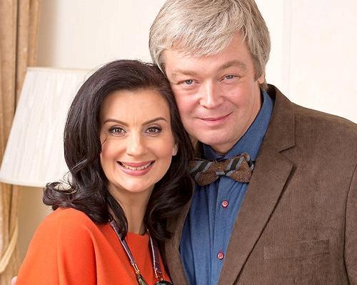 Екатерина Стриженова и её муж Александр Стриженов
