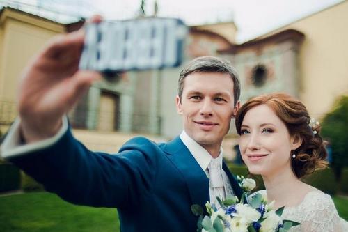 Эльдар Лебедев и его жена Валерия Кабанова
