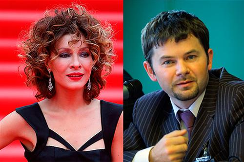 Елена Подкаминская и её муж Александр Пляцевой