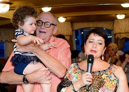 Эммануил Виторган, его жена Ирина Млодик и их дочь Этель