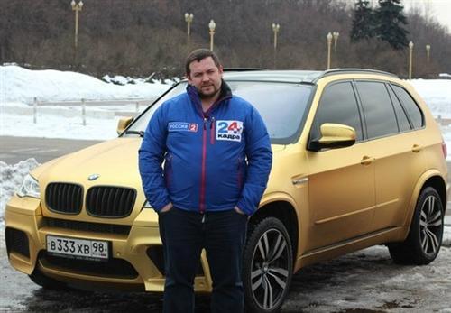 Эрик Давидыч и его любимая BMW X5 M