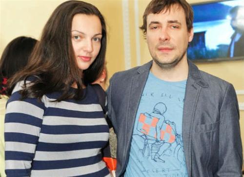 Евгений Цыганов и его жена Ирина Леонова