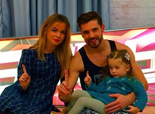 Евгений Горенятенко с женой и дочкой