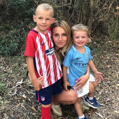 Жена футболиста Виктора Васина Евгения