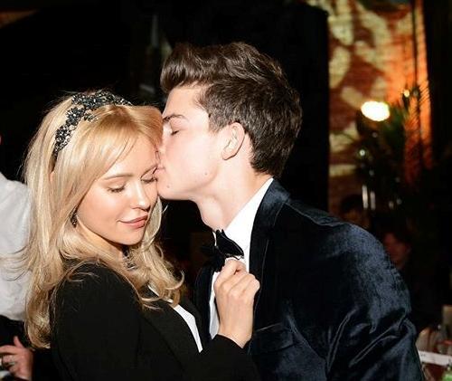 Филипп Газманов и его девушка Анна