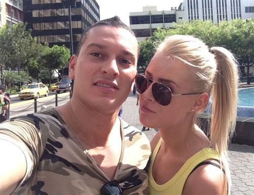 Габриэль с Кристиной Лясковец в Эквадоре