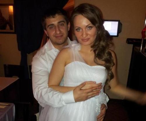 Геннадий Джикия и его жена