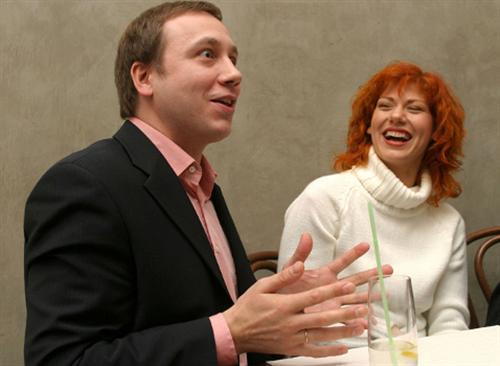 Георгий Дронов и Елена Бирюкова