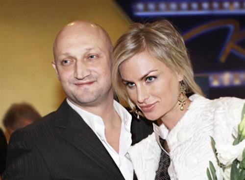 Гоша Куценко и Ирина Скриниченко (его жена)