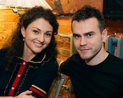 Игорь Акинфеев и его жена Екатерина Герун