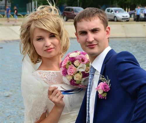 Хулиган Илья Анурьев и его жена Анна