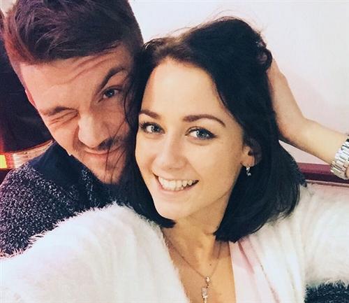 Ингрид Олеринская и её парень