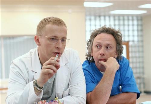 Доктор Быков и Купитман (Иван Охлобыстин и Вадим Демчог)