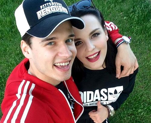 Иван Жвакин и Ксения Лукьянчикова
